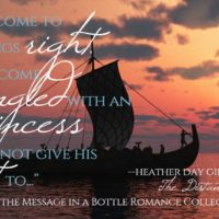 The Message in a Bottle Blog Hop & Giveaway (stop #1)