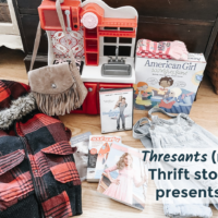 Thrift Store Christmas Presents